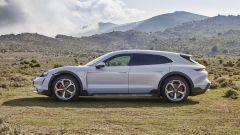 Porsche Taycan Cross Turismo: visuale laterale