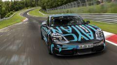 Porsche Taycan, il trailer del record al 'Ring