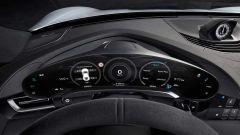 Porsche Taycan: il cruscotto visto da vicino