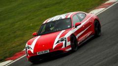 Porsche Taycan in pista