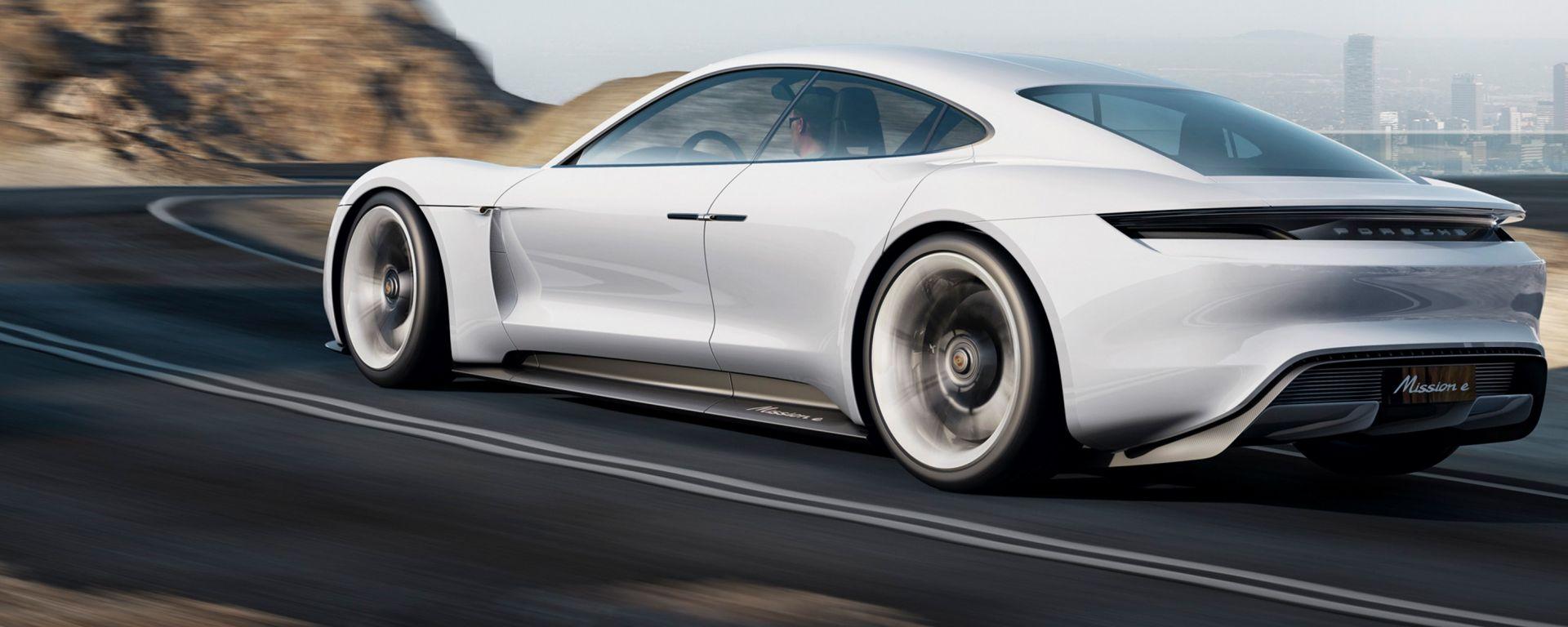 Porsche Taycan, la prima Porsche a propulsione elettrica