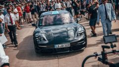 Porsche Taycan: l'arrivo al FOS 2019