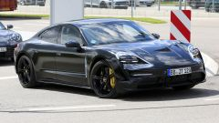 Porsche Taycan new spy