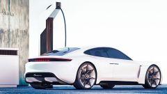 Porsche Taycan, ricarica batterie ultrarapida