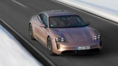 Porsche Taycan RWD, il video della prova