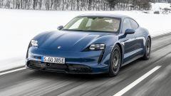 Porsche Taycan RWD, modello base sarai tu. La prova video - Immagine: 12