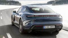 Porsche Taycan RWD, modello base sarai tu. La prova video - Immagine: 13