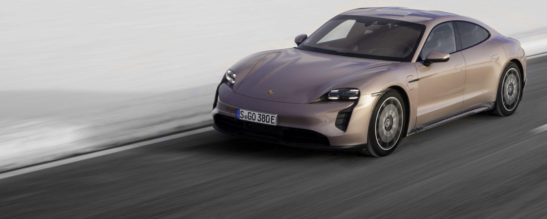 Porsche Taycan RWD: trazione posteriore, libidine integrale