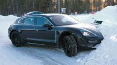 Porsche Taycan Sport Turismo, nuove foto spia. (Quasi) nuda - Immagine: 9