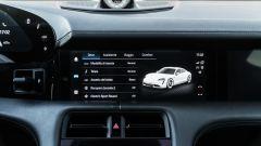 Porsche Taycan Turbo S: i profili di guida della Taycan con i setup personalizzabili
