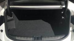 Porsche Taycan Turbo S: il vano bagagli posteriore da 366 litri di capacità