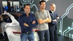 Porsche Taycan Turbo S: Mark Webber e Matteo Bobbi