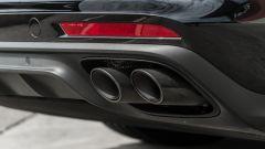 Porsche Taycan Turbo S vs Panamera Turbo S: i tubi di scarico che non ha la Taycan