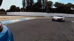 Porsche Taycan vs 911 GT3 RS vs 911 GT3 Cup: la 911 Cup è dietro la GT3 RS