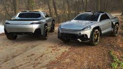 Porsche Cayenne pickup vs Tesla Cybertruck: la sfida virtuale