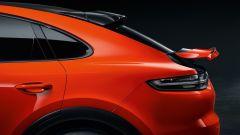 Porsche Turbo S E-Hybrid Coupé: lo spoiler posteriore