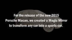 Porsche Macan Magic Mirror  - Immagine: 9