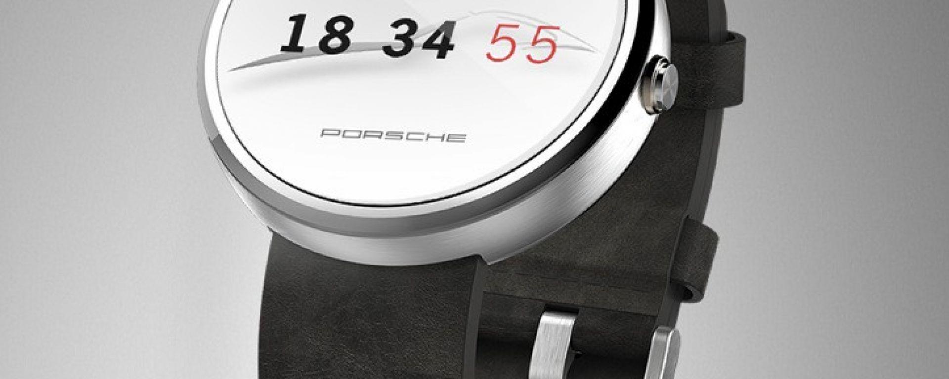 Look Porsche per gli smartwatch Android