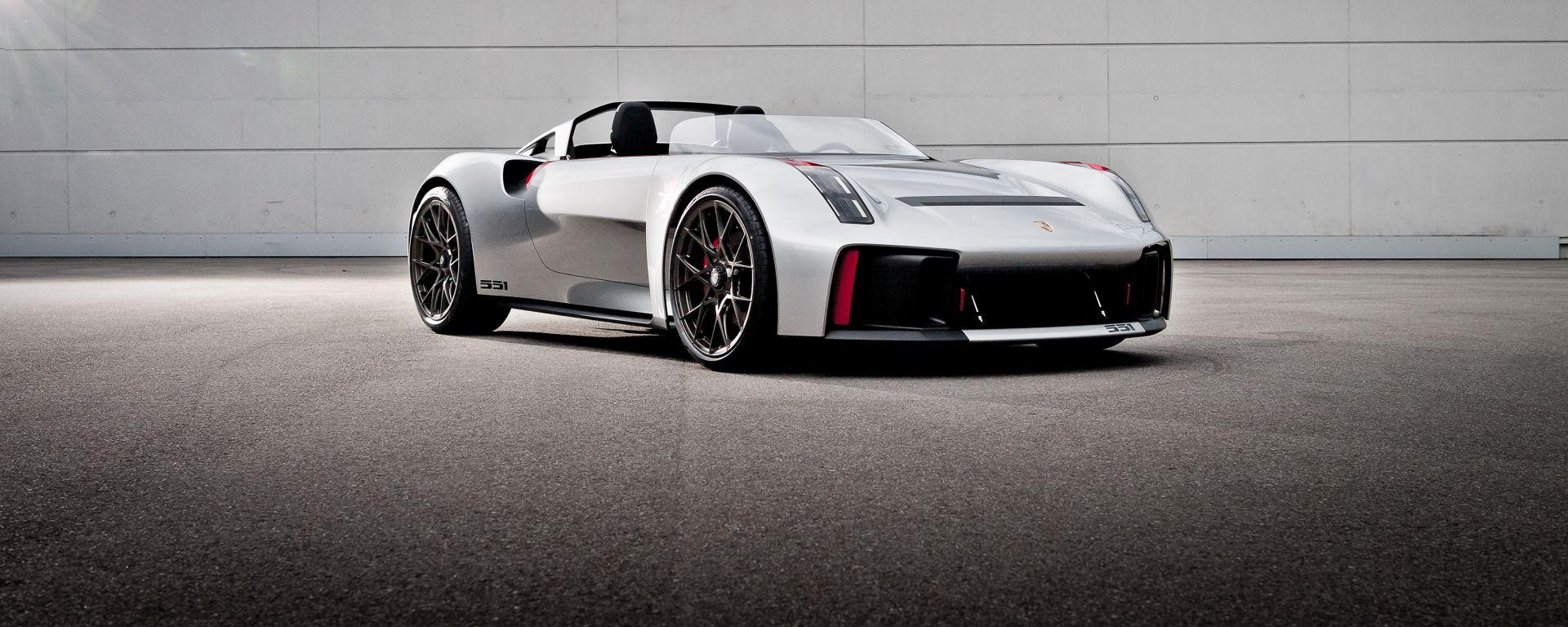 Porsche Vision Spyder in Porsche Unseen