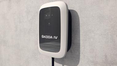 Porte aperte per Skoda Enyaq: la wallbox Skoda