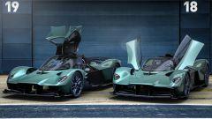 Aston Martin Valkyrie Spider scheda, interni, prezzo