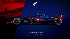 Possibile render della Maserati HAAS F1 2018