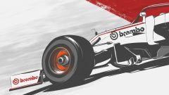 Poster energia dissipata Alfa Romeo Racing by Brembo