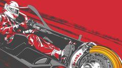 Poster forza pedale Ferrari by Brembo