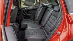 Posti posteriori nuova Volkswagen Tiguan