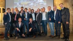 Premiazione Renault Clio Cup Press League