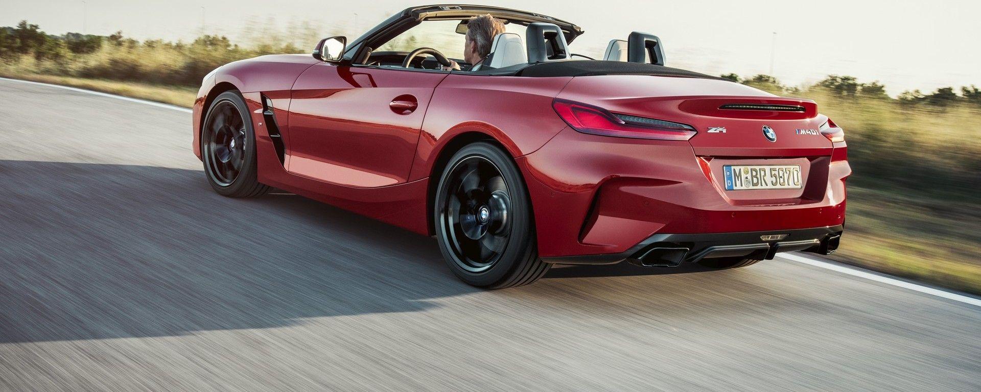 Presentata a Pebble Beach 2018 la nuova BMW Z4