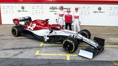 Presentata l'Alfa Romeo Racing a Barcellona, la fotogallery