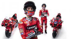 Presentazione Ducati Team 2021 MotoGP - Ducati Desmosedici GP21, Francesco Bagnaia e Jack Miller