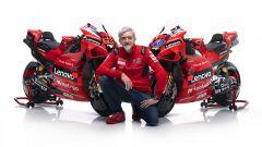 Presentazione Ducati Team 2021 MotoGP - Ducati Desmosedici GP21, Gigi Dall'Igna