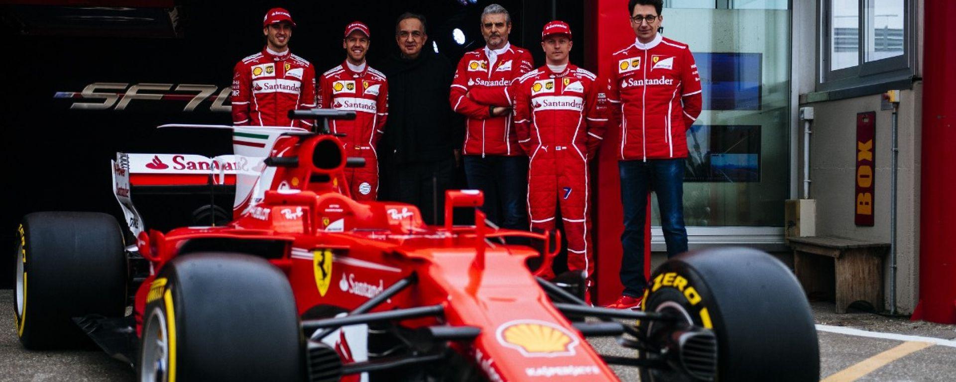 Presentazione Ferrari F1