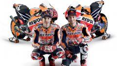 Presentazione Honda Repsol MotoGP 2017 Marquez e Pedrosa con RC213V