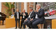 Presentazione - La Congiura degli Innocenti: Renato Ronco, Bruno Giacomelli, Luigi Vignando, Luca Dal Monte
