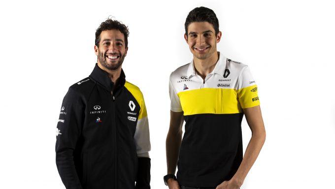 Presentazione Renault F1 2020: Daniel Ricciardo ed Esteban Ocon