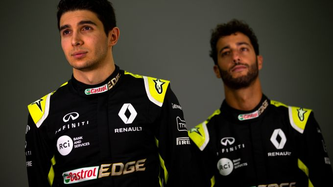 Presentazione Renault F1 2020: Esteban Ocon e Daniel Ricciardo