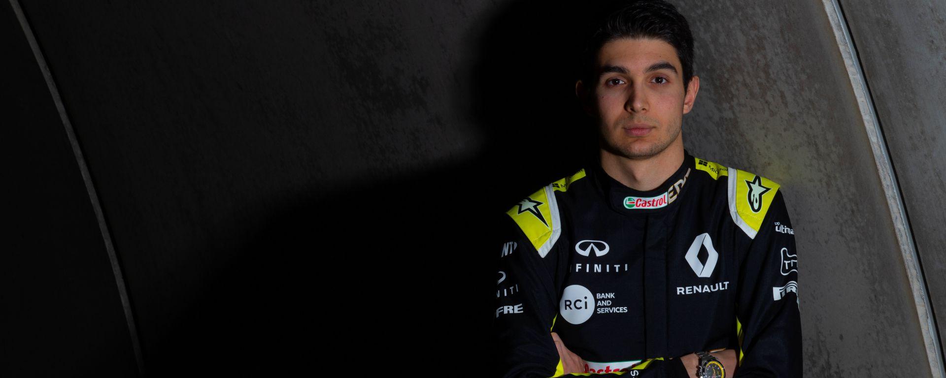 Presentazione Renault F1 2020: Esteban Ocon