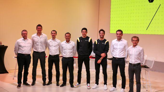 Presentazione Renault F1 2020