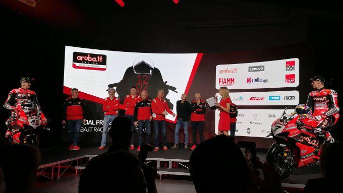 Presentazione team Ducati Aruba.it, Scott Redding e Chaz Davies
