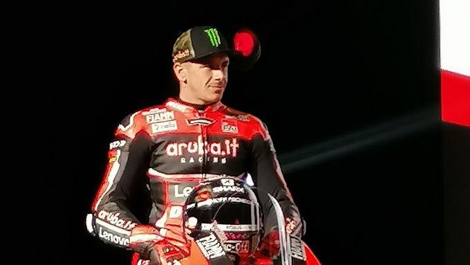 Presentazione team Ducati Aruba.it, Scott Redding
