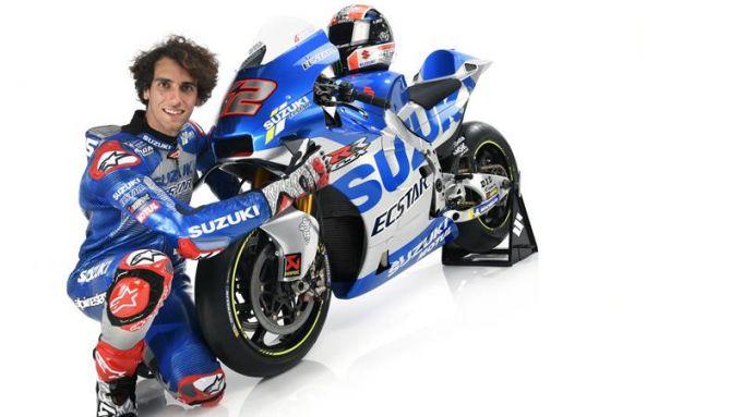 Presentazione Team Suzuki Ecstar MotoGP 2020, Alex Rins