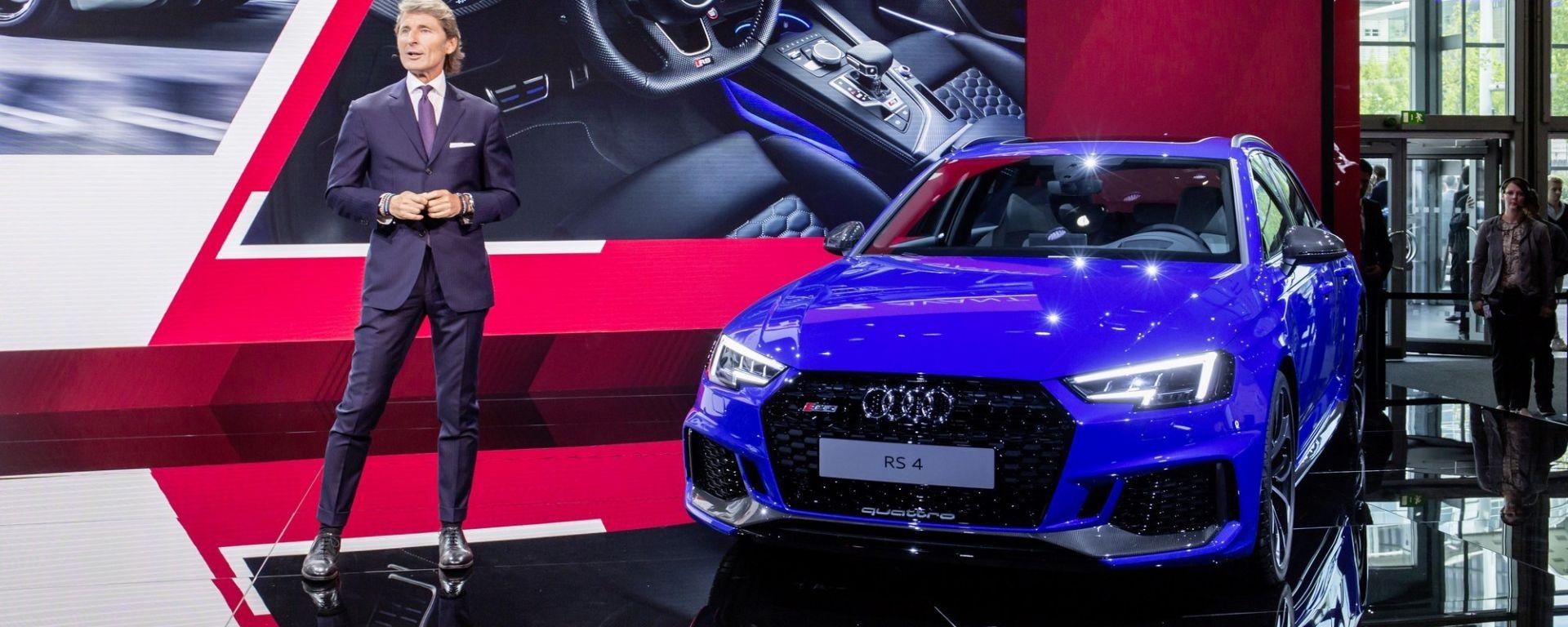 Sportiva versatile: la nuova Audi RS4 Avant