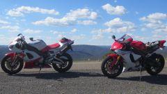Prima e ultima fianco a finco, in mezzo vent'anni di Yamaha R1