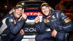 Pollara e Princiotto al Rally Due Valli con la Peugeot T16