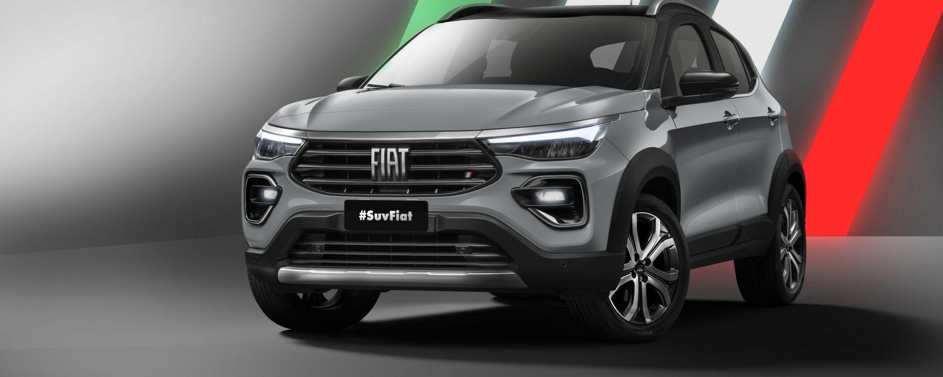 Progetto 363, il nuovo SUV compatto Fiat per il Brasile