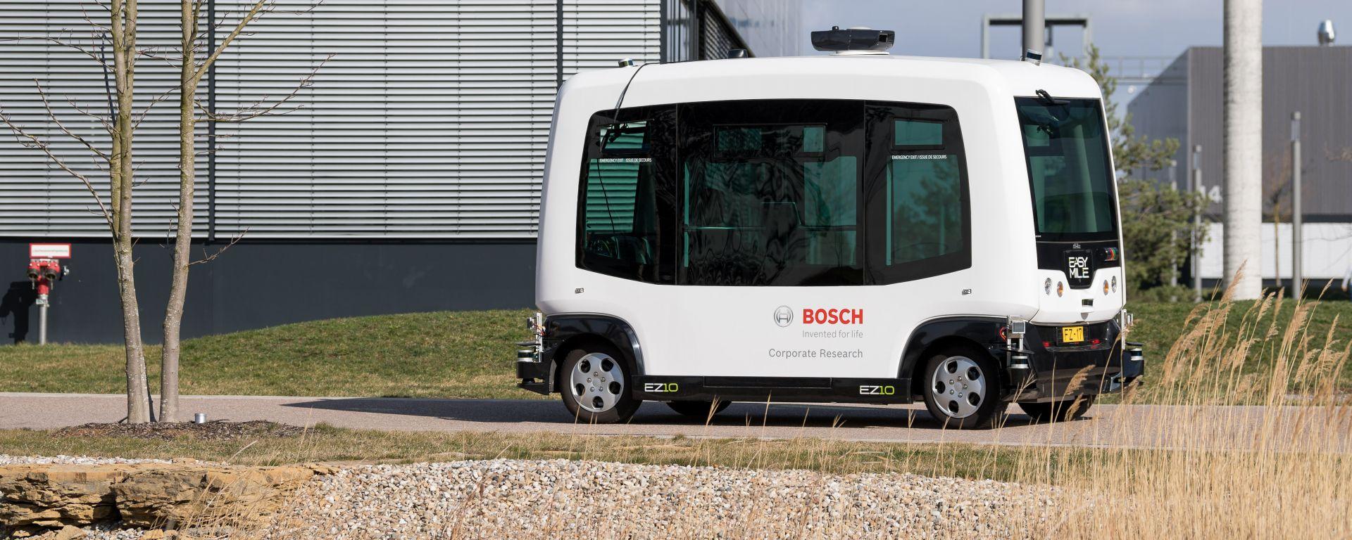 Progetto 3F di Bosch per navette a guida autonoma