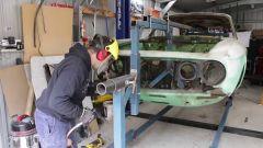 Progetto Alfarrari (Alfa 105) anche il supporto è autocostruito